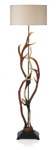 Antler 1-light Made in the Cotswolds Floor Lamp ANT4929